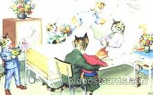 cat000198 - Artist Alfred Mainzer, Cat, Cats  Postcard Post Card