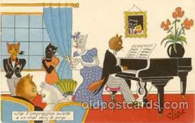 cat001002 - Cat Cats Postcard Post Card