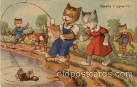 cat001009 - Cat Cats Postcard Post Card