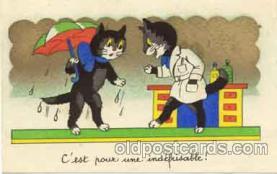 cat001017 - Cat Cats Postcard Post Card
