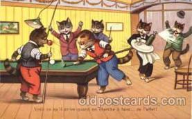 cat001022 - Cat Cats Postcard Post Card