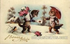 cat001110 - Cat, Cats, Postcard Post Card