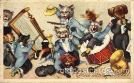 cat001113 - Cat, Cats, Postcard Post Card