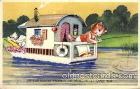 cat001118 - Cat, Cats, Postcard Post Card