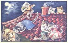cat001227 - Cat, Cats Postcard Post Card