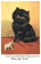 cat001245 - Artist E.L. Buckles Cat, Cats Postcard Post Card
