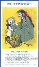 cat001275 - Weather Kittens Cat, Cats, Postcard Post Card