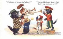 cat001309 - Cat band Cat, Cats, Postcard Post Card