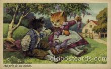 cat001582 - Cat Cats, Post Card, Post Card