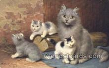 cat001687 - Artist Sperlich, Cat Cats, Old Vintage Antique Postcard Post Card