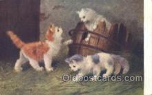 cat001712 - Artist Sperlich, Cat Cats, Old Vintage Antique Postcard Post Card