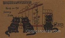 cat001772 - Cat Cats, Old Vintage Antique Postcard Post Card