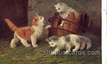 cat001780 - Artist Sperlich, Cat Cats, Old Vintage Antique Postcard Post Card