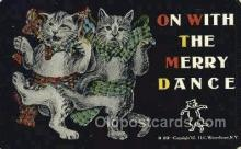 cat001813 - Cat Cats, Old Vintage Antique Postcard Post Card