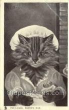 cat001819 - Artist G.L. Barnes, Cat Cats, Old Vintage Antique Postcard Post Card
