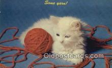 cat001912 - Chrome Cat Postcard, Post Card, Postales, Postkaarten, Kartpostal, Cartes, Postale, Postkarte, Ansichtskarte