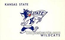 cat002008 - Kansas State, Wildcats Kansas, USA Postcard Post Card