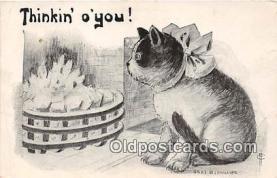 cat002036 - I Phillips Postcard Post Card