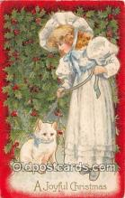 cat002071 - Joyful Christmas  Postcard Post Card