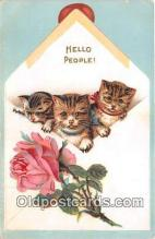 cat002078 - Hello People  Postcard Post Card
