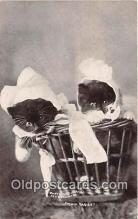 cat002095 - Twin Babies CE Bullard Postcard Post Card