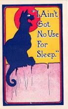 cat002287 - Cat Post Card Old Vintage Antique