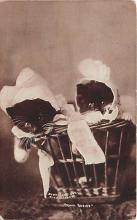 cat002326 - Cat Post Card Old Vintage Antique