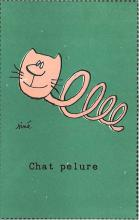 cat002356 - Cat Post Card Old Vintage Antique