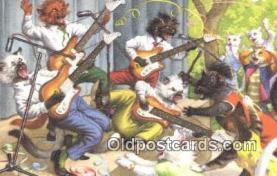 cat254113 - Alfred Mainzer Post Card Artist Signed Cat Post Card Old Vintage Antique