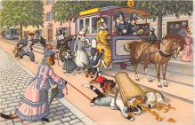 cat254461 - Cat Post Card Old Vintage Antique