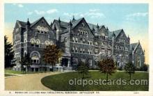 cau001019 - Bethlehem, PA, USA Moravian College & Theological Seminary Old Vintage Antique Post Card Post Card