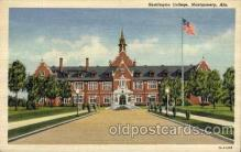 cau001049 - Huntington, Montgomery, AL  Old Vintage Antique Post Card Post Card
