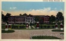 cau001061 - Alexandria, Louisiana USA Louisiana College Old Vintage Antique Post Card Post Card