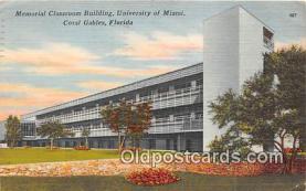 cau001067 - College Vintage Postcard
