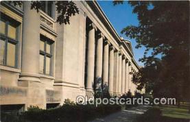 cau001070 - College Vintage Postcard