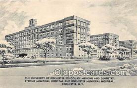 cau001071 - College Vintage Postcard