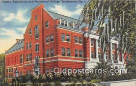 cau001079 - College Vintage Postcard