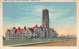 cau001081 - College Vintage Postcard
