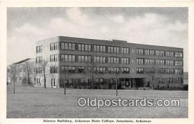 cau001084 - College Vintage Postcard