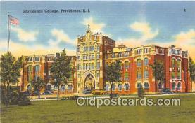 cau001089 - College Vintage Postcard