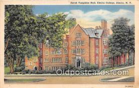 cau001101 - College Vintage Postcard