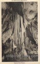 cav001014 - Carlsbad Caverns, New Mexico, NM USA Cave Caves Post Card Postcard