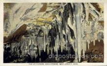 cav001032 - Ohio Caverna, West Liberty, Ohio, OH, USA Cave Caves Post Card Postcard