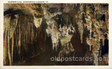 cav001038 - Rainbow Lake, Shenandoah Caverns, Virginia, VA, USA Cave Caves Post Card Postcard