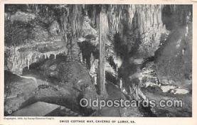 cav001090 - Cave, Caverns, Vintage Postcard
