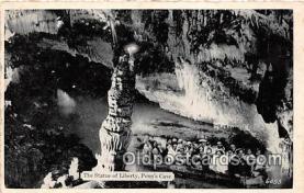 cav001102 - Cave, Caverns, Vintage Postcard