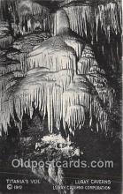 cav001120 - Cave, Caverns, Vintage Postcard