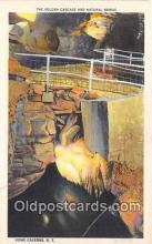 cav001134 - Cave, Caverns, Vintage Postcard