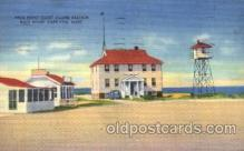 cgs001004 - Race Point Coast Guard Station Cape Cod, Mass, USA Postcard Post Cards Old Vintage Antique