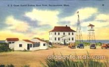 cgs001007 - US Coast Guard Station, Race Point Provincetown, Mass, USA Postcard Post Cards Old Vintage Antique